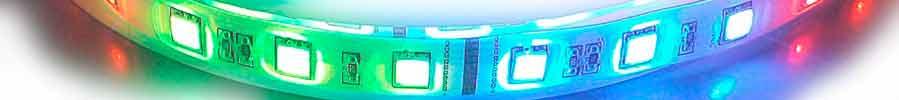 Фото МНОГОЦВЕТНАЯ (RGB, RGBW, RGBWW) LED ЛЕНТА