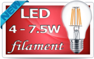 Фото LED лампы типа Filament