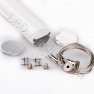 Фото Профиль алюминиевый для светодиодных лент №9 круглый ф.40x1000мм