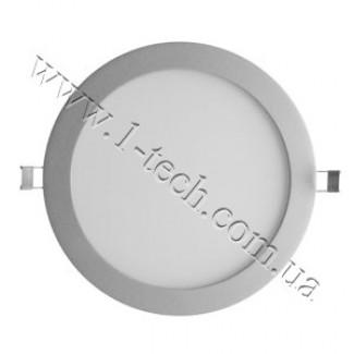 Фото1 Fusion.R140/. Светильник светодиодный потолочный круглый Fusion, 24В, 5,5 Вт, ф140 мм