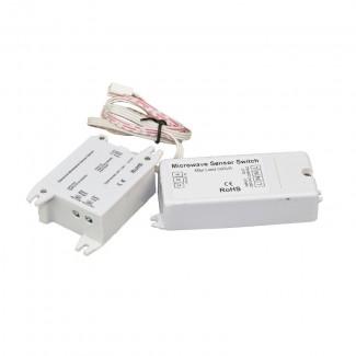 Фото1 Датчик движения обьемный Sensor Switch Microwave 220VAC, 500VA
