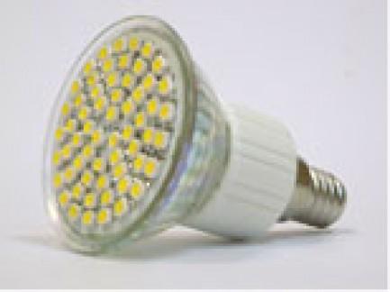 Фото1 LED лампа с цоколем Е14, 200В, 60x3528