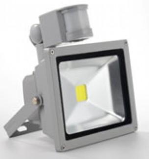 Фото1 SPOT.1M/w - Cветодиодный матричный прожектор с датчиком движения, 10W