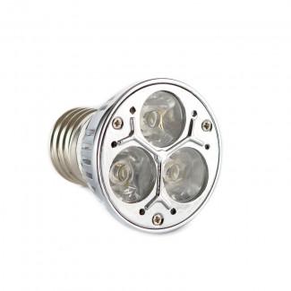 Фото1 Лампа светодиодная LED E27-3х1W, 3 Вт, тип R50