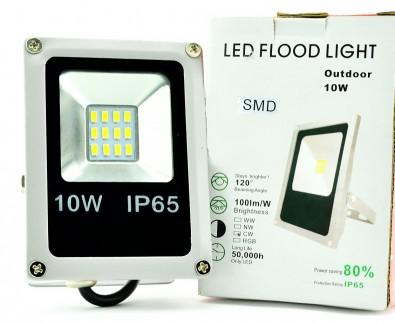 Фото1 SLIM-SMD.0..-MS Плоский LED прожектор со встроенным датчиком движения, SMD5730, IP65