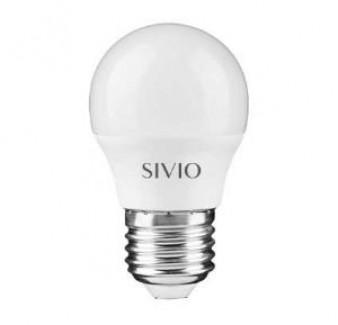 Фото1 SIV-E27-G45-..W-..00K Лампочки G45 с цоколем E27, 220В SIVIO