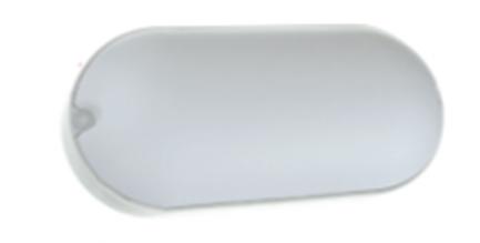 Фото1 113../1 OVAL Овальный накладной светодиодный светильник ЖКХ, AVT