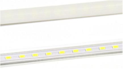 Фото1 MTK2-5730-..T Линейный LED светильник для мебели, прозрачный