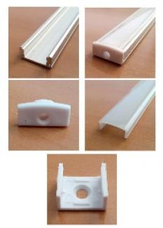 Фото1 LED профиль ПФ №15 НПМ (комплект)