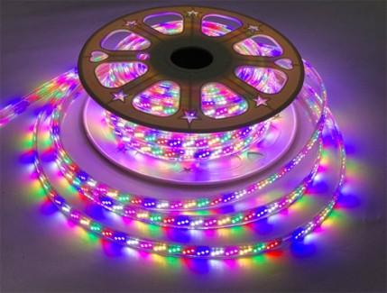 Фото3 LED лента 220V STANDART #16 - Multi-Color RGBWYP, SMD2835, 180 д/м, 10W, IP65 + комплектующие