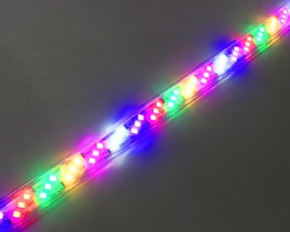 Фото2 LED лента 220V STANDART #16 - Multi-Color RGBWYP, SMD2835, 180 д/м, 10W, IP65 + комплектующие