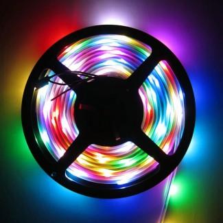 Фото1 LED лента 220V STANDART #16 - Multi-Color RGBWYP, SMD2835, 180 д/м, 10W, IP65 + комплектующие