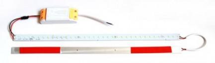 Фото1 MTK-2835.. 14W Комплект LED линеек (2 шт), 160-260 В, для замены ламп дневного света 14W