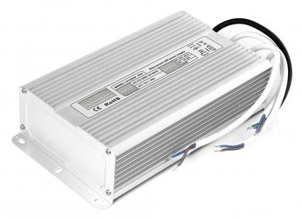 Фото1 PSR12VDC-16A-200W - Импульсный блок питания, в металлическом корпусе, 12V, 16A, 200W, IP67