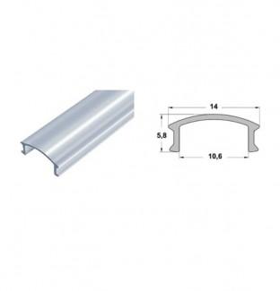Фото3 Профиль алюминиевый №19 для светодиодных лент накладной 16х12мм (комплект)