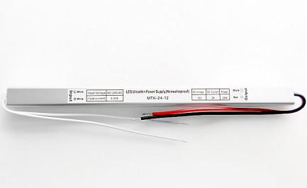 Фото1 PSPS12VDC-2A-24W - блок питания серии SLIM, 12V, 2A, 24W