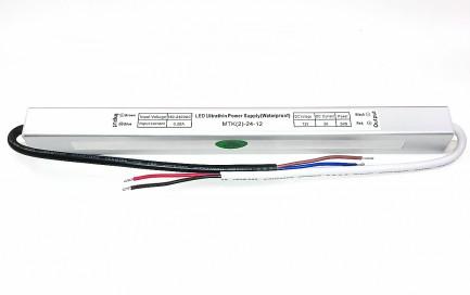 Фото1 PSHS12VDC-2A-24W - герметичный блок питания серии SLIM, 12V, 2A, 24W