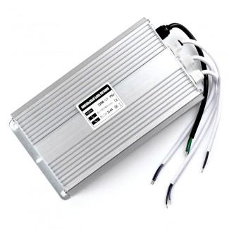 Фото1 PSR12VDC-25A-300W - Импульсный блок питания, в металлическом корпусе, 12V, 25A, 300W, IP67