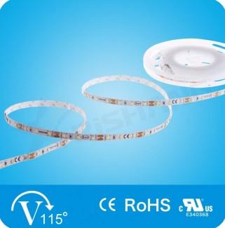 Фото1 R0860TA-C-WW Светодиодная лента, 60х SMD 2835, 12V, цвет - белый-тёплый (3000К)