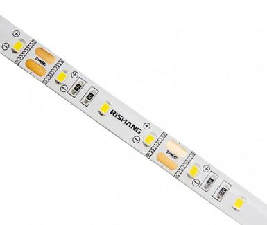Фото1 R6060TA-A-WW - LED лента SMD 2835, 60 д/м, 12VDC, 12 Вт/м, белый теплый 3000К, IP65