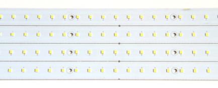 Фото3 MTK-2835.. 28W Комплект LED линеек (4 шт), 160-260 В, для замены ламп дневного света 28W