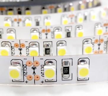 Фото1 AVT-600NW3528-12 8mm - LED лента SMD3528, 120 д/м, 9.6W, белый нейтральный