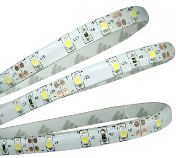 Фото1 AVT-300WWF3528-12 - LED лента SMD3528, белый-теплый, 60 д/м, 4,8W, IP65