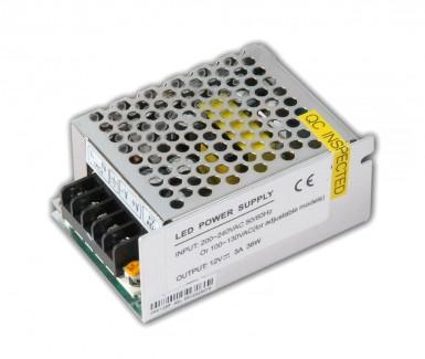 Фото1 PSС12VDC-3A(MN/1)-36W - блок питания серии Compact, 12V, 3A, 36W