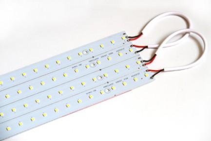 Фото4 MTK-2835.. 28W Комплект LED линеек (4 шт), 160-260 В, для замены ламп дневного света 28W