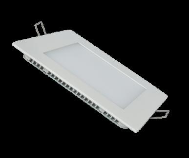 Фото1 433/. Светильник светодиодный потолочный, квадрат врезной, Down Light, 9W, 145 мм