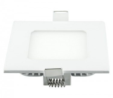 Фото2 436/. Светильник светодиодный потолочный, квадратный врезной, Down Light, 3W, 90мм
