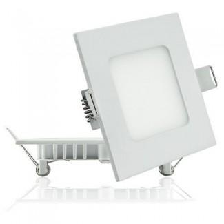 Фото1 436/. Светильник светодиодный потолочный, квадратный врезной, Down Light, 3W, 90мм