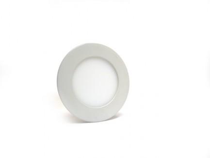 Фото1 537/. Светильник светодиодный потолочный, круглый врезной, Down Light Plastic, 220В, 3 Вт, ф90