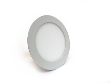 Фото1 538/. Светильник светодиодный потолочный, круглый врезной, Down Light Plastic, 220В, 12 Вт, ф169