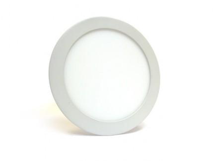 Фото1 539/. Светильник светодиодный потолочный, круглый врезной, Down Light Plastic, 220В, 18 Вт, ф224