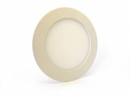 Фото1 543/. Светильник светодиодный потолочный, круглый врезной, Down Light Plastic, 220В, 6 Вт, ф119