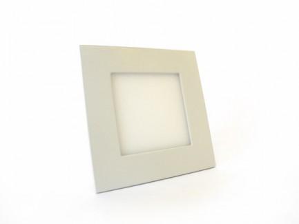 Фото1 547/. Светильник светодиодный потолочный, квадратный врезной, Down Light Plastic, 220В, 6 Вт, 120мм