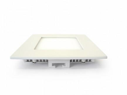 Фото2 547/. Светильник светодиодный потолочный, квадратный врезной, Down Light Plastic, 220В, 6 Вт, 120мм