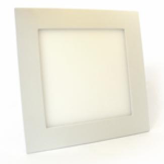 Фото1 552/. Светильник светодиодный потолочный, квадратный врезной, Down Light Plastic, 220В, 18 Вт, 295мм