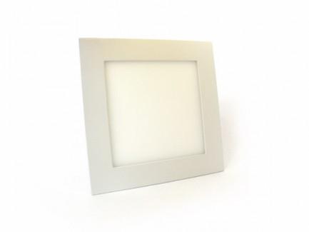 Фото1 548/. Светильник светодиодный потолочный, квадратный врезной, Down Light Plastic, 220В, 12 Вт, 169мм