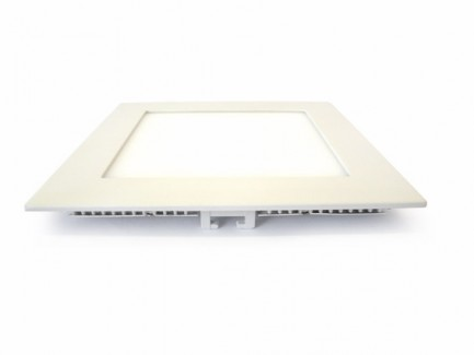 Фото2 533/. Светильник светодиодный потолочный, квадратный врезной, Down Light Plastic, 220В, 9 Вт, 145мм