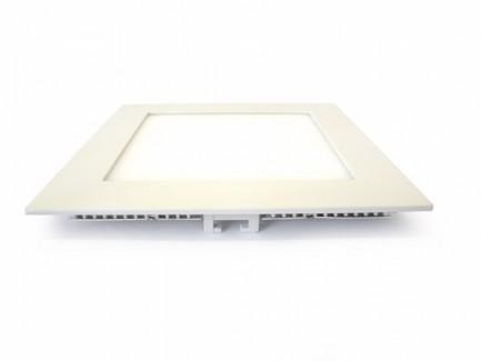 Фото2 548/. Светильник светодиодный потолочный, квадратный врезной, Down Light Plastic, 220В, 12 Вт, 169мм