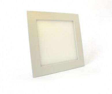 Фото1 549/. Светильник светодиодный потолочный, квадратный врезной, Down Light Plastic, 220В, 18 Вт, 225мм