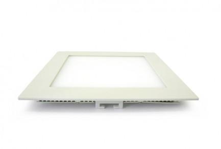 Фото2 549/. Светильник светодиодный потолочный, квадратный врезной, Down Light Plastic, 220В, 18 Вт, 225мм