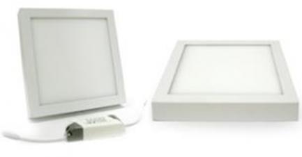 Фото1 468/. Светильник светодиодный потолочный, квадратный накладной, Wall Light, 220В, 24 Вт, 285мм