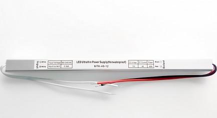 Фото1 PSPS12VDC-4A-48W - блок питания серии SLIM, 12V, 4A, 48W