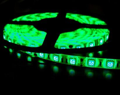 Фото2 МТК-300G5050-12 №1 - LED лента SMD 5050, 60 д/м, 12V, зеленый, IP20
