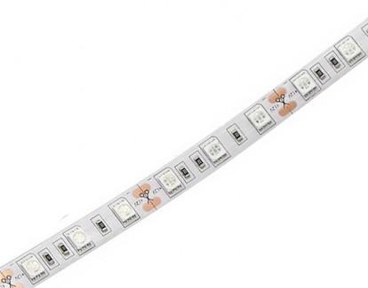 Фото1 МТК-300G5050-12 №1 - LED лента SMD 5050, 60 д/м, 12V, зеленый, IP20