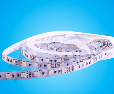 Фото1 R6060AQ - LED лента SMD 5050, 60 д/м, 12VDC, 14.4 Вт/м, полноцветная RGB, IP33