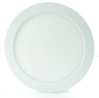 Фото1 551/. Светильник светодиодный потолочный, круглый врезной, Down Light Plastic, 24 Вт, ф295